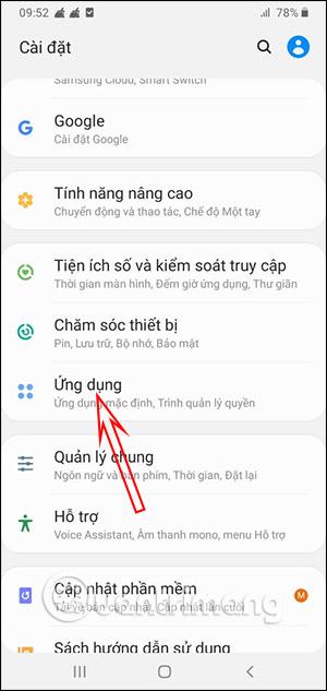 Ứng dụng trên Android