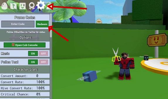 bee swarm simulator code