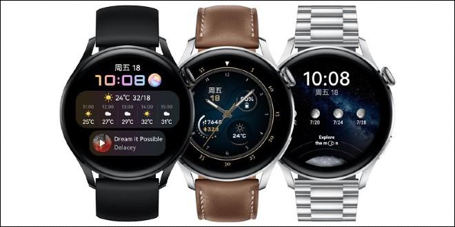 Huawei Watch 3 và Huawei Watch 3 Pro là những chiếc smartwatch đầu tiên chạy Harmony OS
