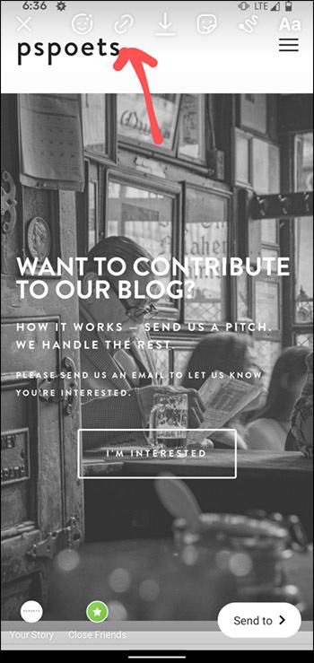 Cách thêm liên kết vào Story Instagram - Ảnh minh hoạ 2