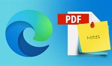 Cách viết ghi chú file PDF trên Microsoft Edge