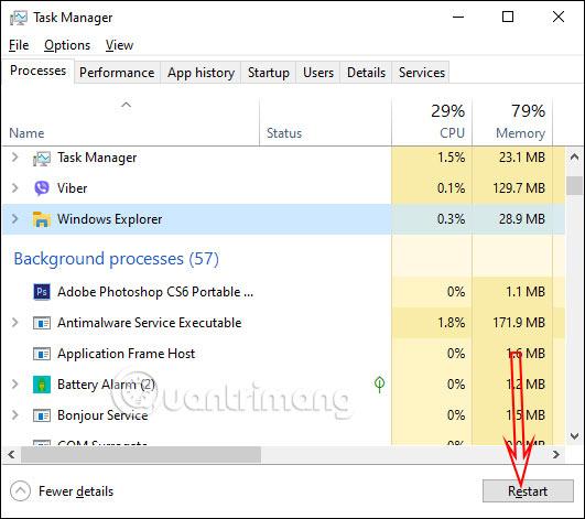 Cách chỉnh kích thước ảnh xem trước trên Taskbar