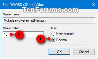 Cách sửa lỗi các mục trong menu ngữ cảnh bị mất khi chọn hơn 15 file trong Windows - Ảnh minh hoạ 4