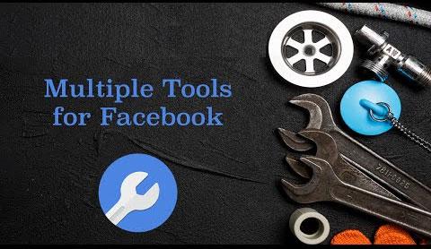 Tải Multiple Tools for Facebook: Add-on cung cấp nhiều công cụ và tùy chọn để sử dụng Facebook