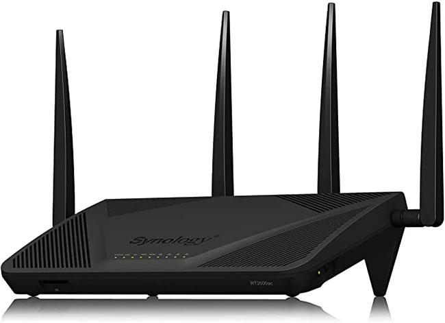 Router WiFi Gigabit băng tần kép Synology RT2600ac