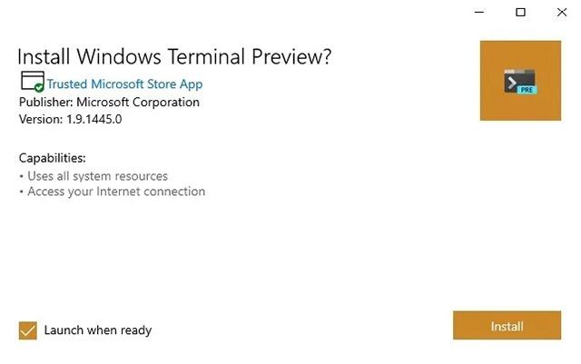 3 cách cài đặt Windows Terminal trên Windows 10
