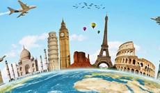 Cách ghép ảnh du lịch tại các địa điểm nổi tiếng