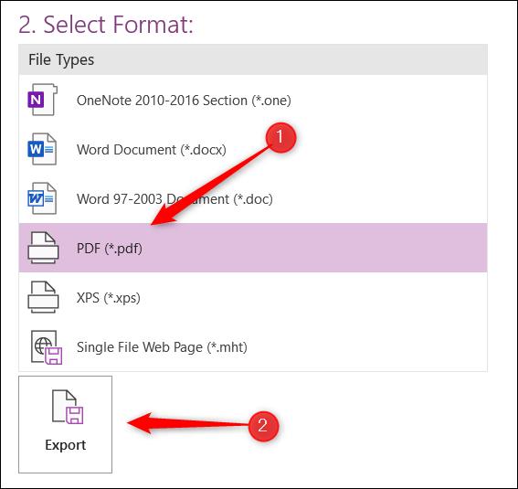 Cách xuất ghi chú Microsoft OneNote sang dạng file PDF - Ảnh minh hoạ 5