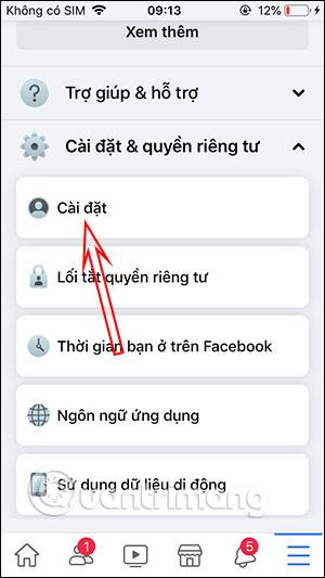 Tùy chọn cảm xúc Facebook