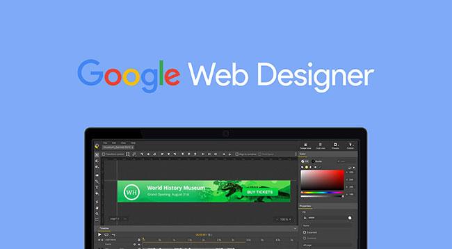 Trình thiết kế web của Google