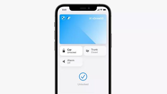 Apple Wallet giúp người dùng mở khóa và cốp xe.