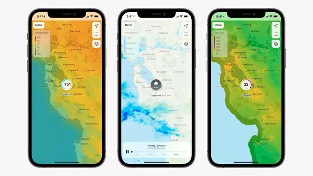 Apple Maps có diện mạo mới.