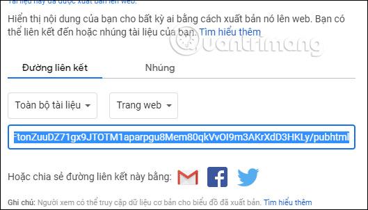 Cách mở link trong Google Sheets bằng 1 lần click chuột - Ảnh minh hoạ 4