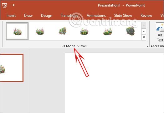 Cách tạo hiệu ứng cho mô hình 3D trong PowerPoint - Ảnh minh hoạ 2