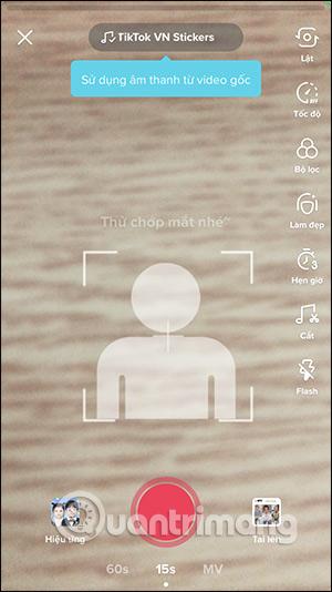 Cách quay video hiệu ứng Mãi là em bé trên TikTok - Ảnh minh hoạ 5