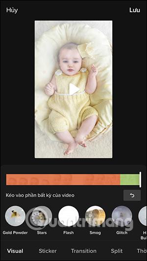 Cách quay video hiệu ứng Mãi là em bé trên TikTok - Ảnh minh hoạ 8