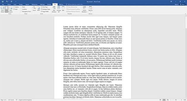 Cách thiết lập hiển thị từng trang văn bản một trong Microsoft Word ở mọi độ phân giải - Ảnh minh hoạ 3
