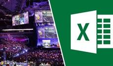 Microsoft Excel là môn thể thao điện tử, kỳ World Cup Excel đầu tiên đã diễn ra vào ngày 8/6