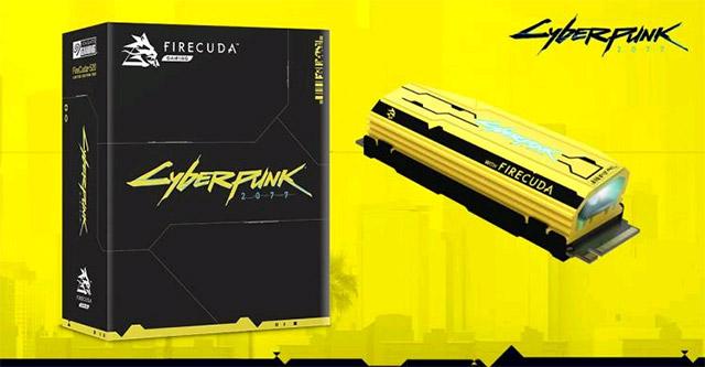 FireCuda 520 Cyberpunk 2077 Phiên bản giới hạn