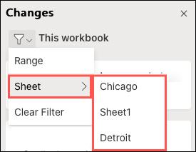 Cách xem nội dung thay đổi khi chia sẻ file Excel - Ảnh minh hoạ 4