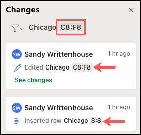 Cách xem nội dung thay đổi khi chia sẻ file Excel - Ảnh minh hoạ 6