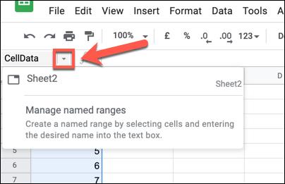 Cách đổi tên, đặt tên cho hàng hoặc cột trong Google Sheet - Ảnh minh hoạ 2