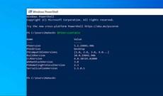 Cách kiểm tra phiên bản PowerShell trong Windows 10