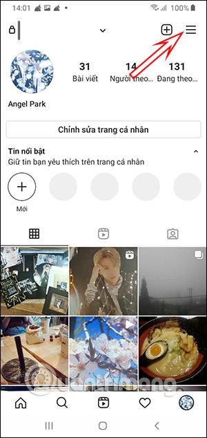 Tùy chọn Instagram