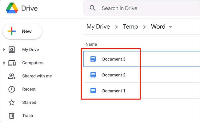 Cách chuyển đổi (convert) nhiều tài liệu Word sang Google Docs - Ảnh minh hoạ 4
