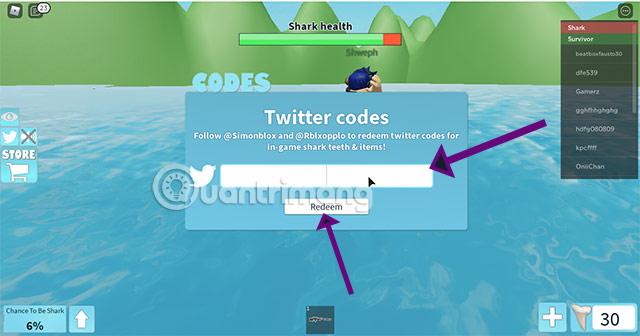 sharkbite code