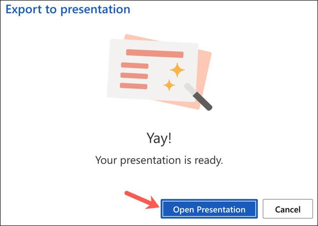 Cách chuyển đổi, xuất file tài liệu Word thành bài trình chiếu PowerPoint - Ảnh minh hoạ 4