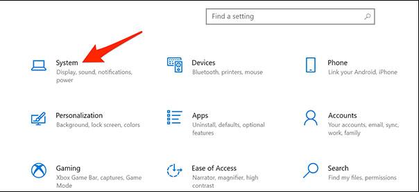 Cách kiểm tra độ phân giải màn hình trong Windows 10