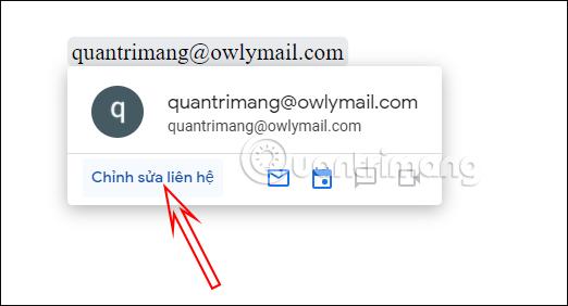 Cách chèn liên hệ vào Google Docs - Ảnh minh hoạ 5