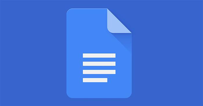 Cách chèn liên hệ vào Google Docs