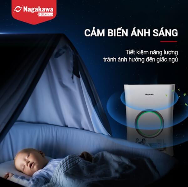 Bộ cảm biến ánh sáng tự động tắt/ mở đèn thông báo