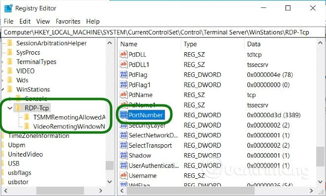 Cách đổi port Remote Desktop (cổng RDP, port 3389) mặc định trên Windows và kết nối sau khi đổi cổng