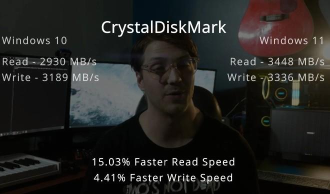 Thử nghiệm CrystalDiskMark
