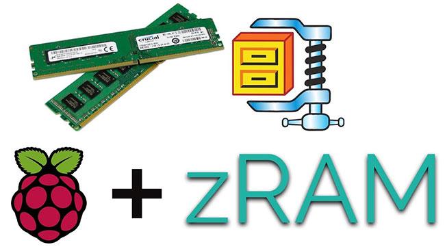 Sử dụng zram trên Raspberry Pi để tăng lượng dữ liệu có thể chứa trong bộ nhớ