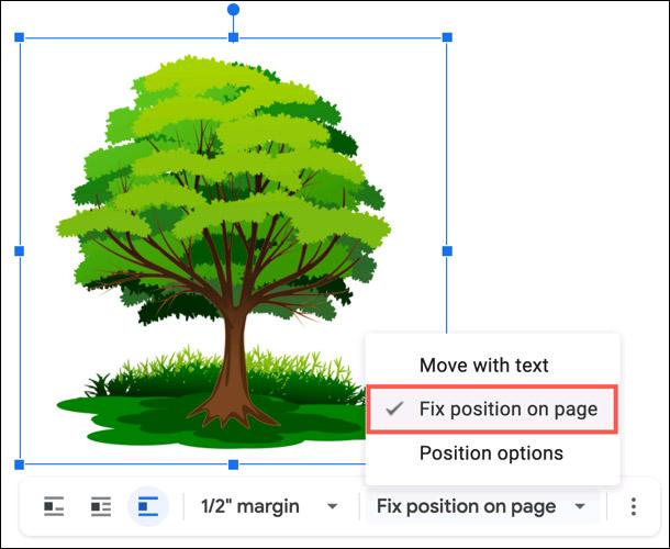 Cách cố định vị trí của hình ảnh trong Google Docs - Ảnh minh hoạ 2