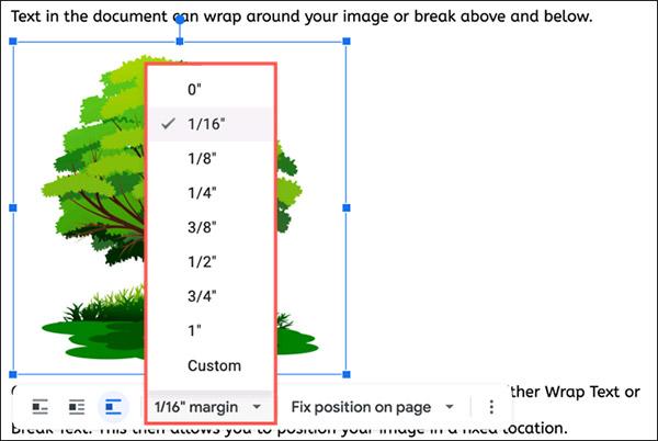 Cách cố định vị trí của hình ảnh trong Google Docs - Ảnh minh hoạ 3