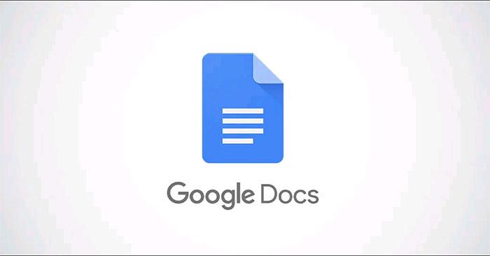 Cách cố định vị trí của hình ảnh trong Google Docs