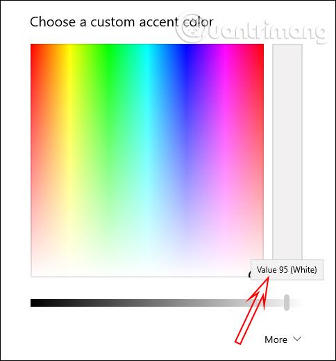 Chỉnh mức độ màu