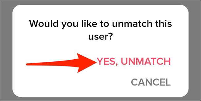 Cách unmatch trên Tinder - Ảnh minh hoạ 5