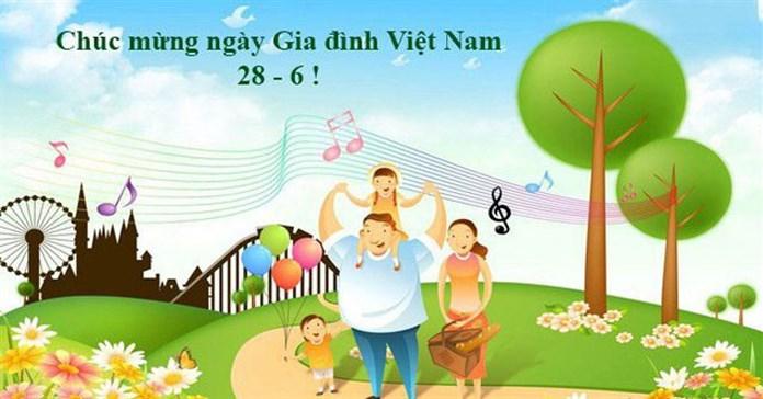 Lời chúc ngày Gia đình Việt Nam 28/6 hay và ý nghĩa
