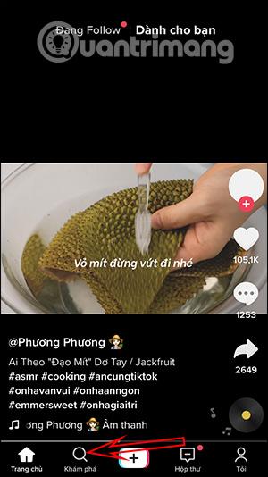 Cách quay video filter đôi mắt to trên TikTok