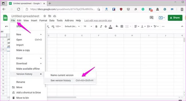 8 cách sửa lỗi Google Sheets không cho phép cuộn - Ảnh minh hoạ 2