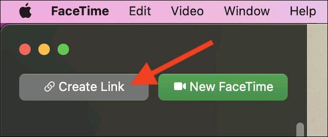 """Nhấp vào """"Create Link"""""""