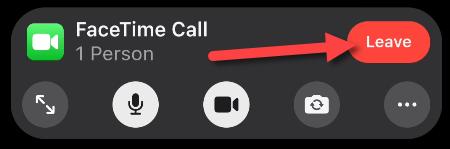 Rời khỏi cuộc gọi