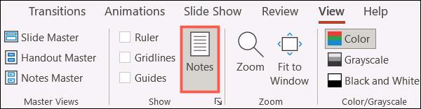 Cách xóa cùng lúc toàn bộ ghi chú trong bài trình chiếu Microsoft PowerPoint