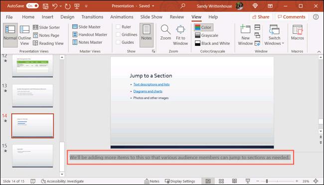 Cách xóa cùng lúc toàn bộ ghi chú trong bài trình chiếu Microsoft PowerPoint - Ảnh minh hoạ 2